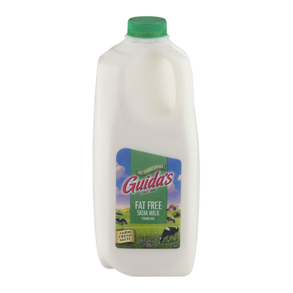 Fat Free Milk – Half Gallon